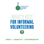What's Next for Informal Volunteering
